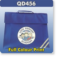 751cd06a7734 Prices - Standard School Book Bags PRINTED in a Single Colour